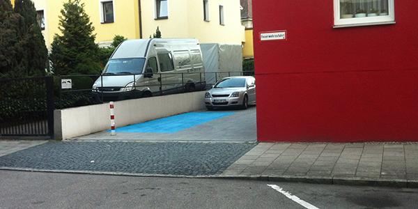 Parkplatz Sailerstraße 22 München
