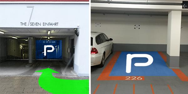 Parkplatz Corneliusstraße 4 München