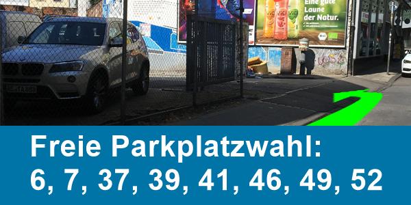 Parkplatz Mefferdatisstraße 16 Aachen