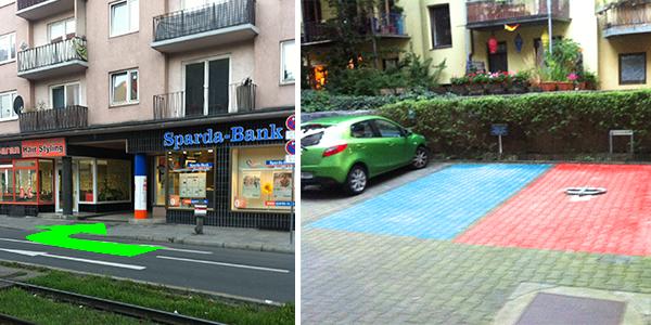 Parkplatz Schleißheimer Straße 119 München
