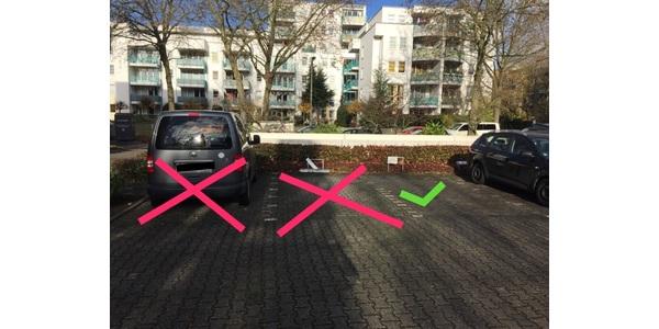 Parkplatz Benfleetstraße 9A Köln