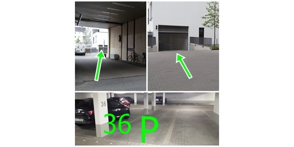 Parkplatz Luxemburger Straße 150 Köln