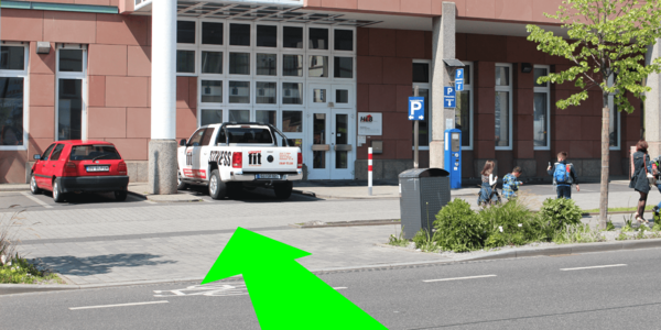 Parkplatz Bahnhofstraße 82 Gießen