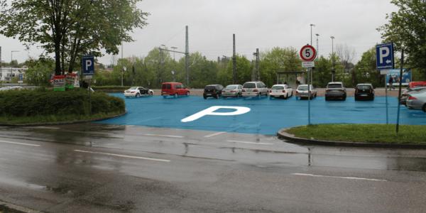 Parkplatz Bahnhofstraße 8 Nürtingen