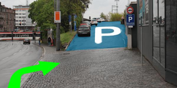 Parkplatz Bahnhofstraße 18 Nürnberg