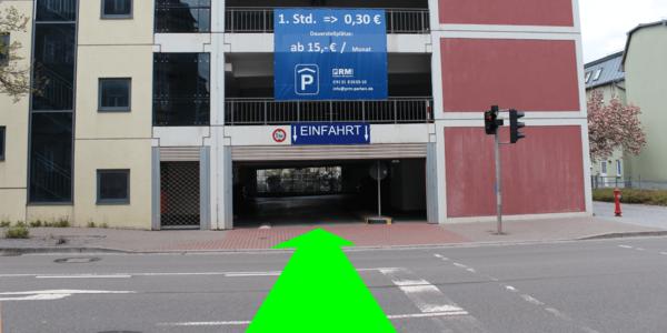 Parkplatz Karl-Liebknecht-Straße 4 Ilmenau