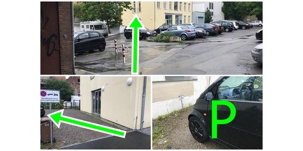 Parkplatz Kupferschmiedestraße 9 Lübeck