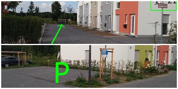 Parkplatz Gertrud-Luckner-Karree 11 Köln