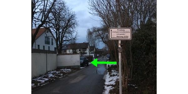 Parkplatz Rennweg 22 Regensburg