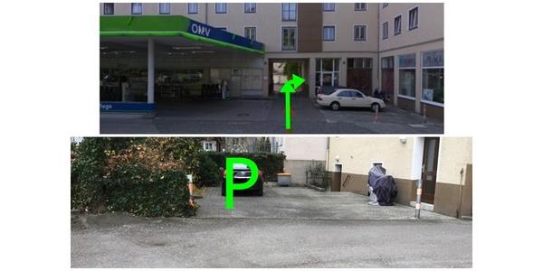 Parkplatz Ungererstraße 50 München