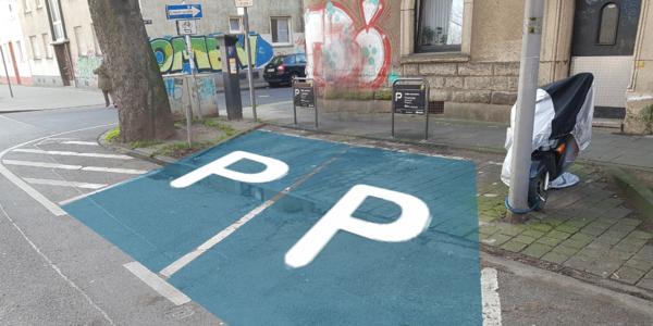 Parkplatz Montanusstraße 9 Köln