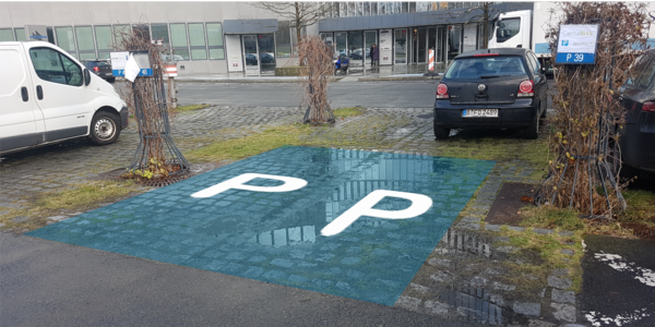 Parkplatz Sachsendamm 4-5 Berlin