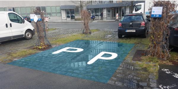 Parkplatz Sachsendamm 4-5 Berlin