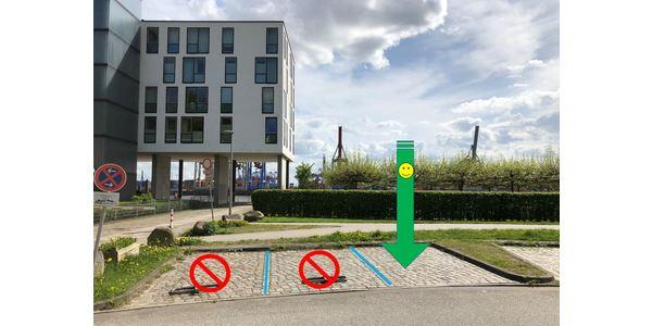 Parkplatz Neumühlen 23-37 Hamburg