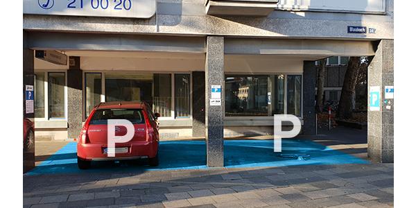 Parkplatz Blaubach 34 Köln