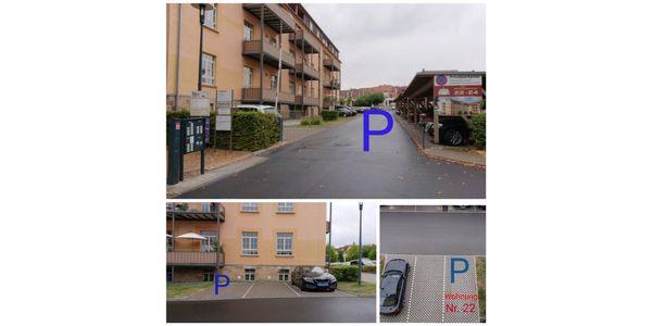Parkplatz Am Rosengarten 24 Fulda