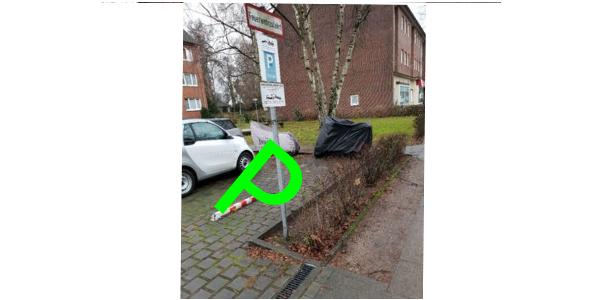 Parkplatz Alsterdorfer Straße 159 Hamburg