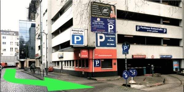 Parkplatz Marspfortengasse 10 Köln