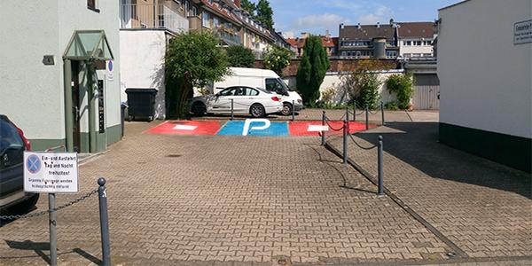 Parkplatz Bayardsgasse 4 Köln
