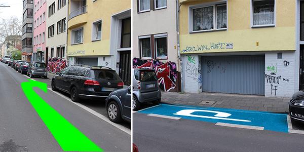 Parkplatz Moltkestraße 68 Köln