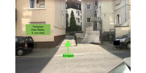 Parkplatz Rendeler Straße 8-12 Frankfurt am Main